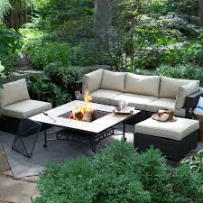 6 Piece Patio Set by Solana Bay 5 Piece Patio Fire Pit Conversation Setcambria Outdoor