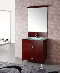 unfinished bathroom vanities create a good focal point with