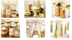 gold baby shower gold baby shower rustic baby chic