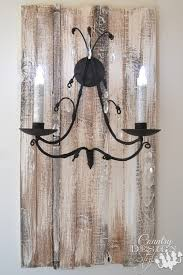 Rustic Candle Sconce Candle Sconce Country Design Style