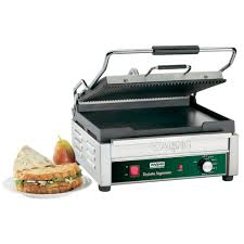 Vice Versa Toaster Waring Wdg250 Grooved Top U0026 Smooth Bottom Panini Sandwich Grill