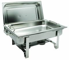 winco get a grip 8 quart chafing dish chafers