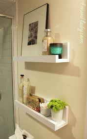 Small Shelves For Bathroom Small Shelves Bathroom Storage Solutions And Organization Tips 8