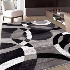 Modern Abstract Rugs Contemporary Modern Circles Gray Area Rug Abstract 7 10 X 10 2