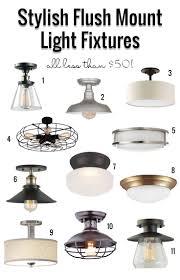 Kitchen Flush Mount Lighting Kitchen Kitchen Light Fixture And 49 Flush Mount Light Fixtures