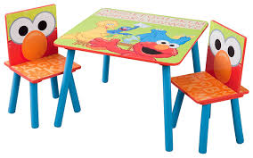 Kids Computer Desk And Chair Set by Amazon Com Delta Children Table U0026 Chair Set Sesame Street Baby