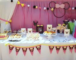 2nd birthday decorations at home interior design cool minnie mouse themed birthday party