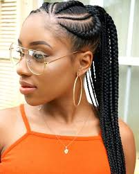 simple african american hairstyles unique ponytil simple black braided hairstyles for short hair