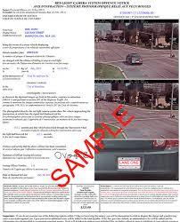red light camera violation pay your ticket city of hamilton ontario canada