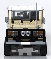 Lego Toyota Land Cruiser Concept The Awesomer