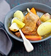 cuisiner cuisse de canard confite recette pot au feu de confit de canard