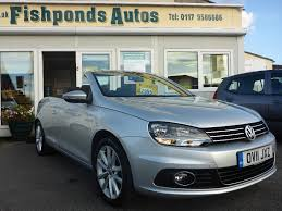volkswagen convertible eos white used volkswagen eos cars for sale motors co uk