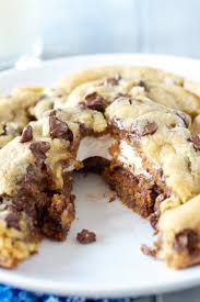 s cookies s mores stuffed chocolate chip cookies smells like home