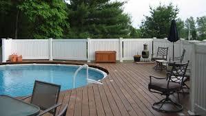 backyard vinyl fence ideas privacy fence designs good neighbor