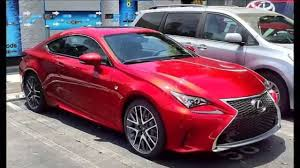 lexus rc f manual 2015 red lexus rc f sport walkaround youtube