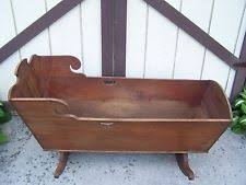 antique baby cradles ebay