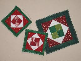 quilted christmas ornament patterns deck your tree