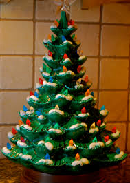 old fashioned ceramic christmas tree cheap details about vintage