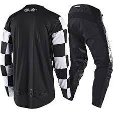 black dirt bike boots troy lee designs new mx 2018 gp checker black motocross dirt bike