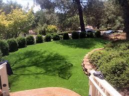 California Backyard Best Artificial Grass Fellows California Backyard Playground