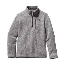 patagonia boys better sweater 1 4 zip mast general store