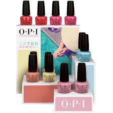 opi 12 piecie counter display retro summer collection 2016