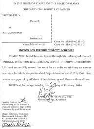 breaking the heat is on levi johnston files for joint custody