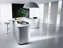 Kitchen Countertop Shapes - agreeable futuristic kitchen counter come with black granite