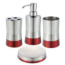 posts tagged red bathroom accessories sets order a free catalouge