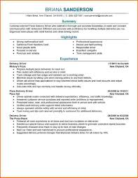 Delivery Driver Resume Example by Delivery Driver Resume Sample Free Resume Example And Writing