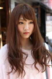 nice koran hairstyles cute korean girls long hairstyle hairstyles weekly