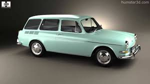 volkswagen squareback 1971 volkswagen type 3 1600 variant 1965 by 3d model store humster3d
