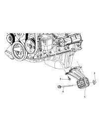 engine mounting for 2008 dodge nitro mopar parts giant