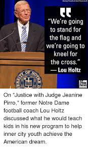 Lou Holtz Memes - 25 best memes about notre dame football notre dame football memes