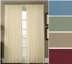 Pinch Pleat Drapes 96 Inches Long Pleated Drapes Linens4less Com