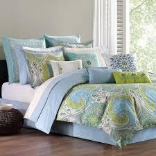 bedroom bedding sardinia reversible twin comforter set blue and