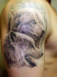 wild wolf tattoo ideas toycyte