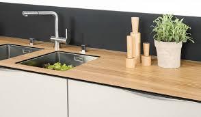 plan de travail bois cuisine cuisine et plan de travail bois hetre brut mat l 250 x p 65 cm ep
