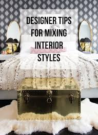 Mixing Furniture Styles by Designer Tips For Mixing Interior Styles Francois Et Moi
