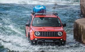 white jeep renegade video watch a jeep renegade go white water rafting