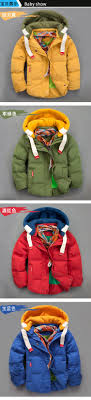 aliexpress 2017 winter children jackets boys and girls