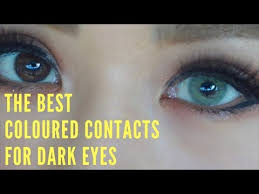review colored contacts dark eyes otaku lover cloud