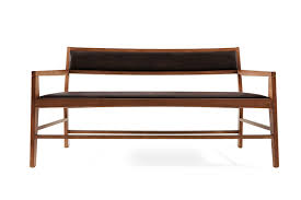 aruba design wood sofa