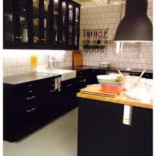 cuisine noir cuisine noir mat ikea fabulous brico with cuisine noir mat ikea
