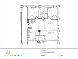 large open floor plans architecture excellent 3 bedroom windham open floor plan drawing