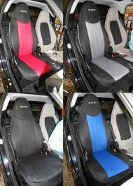 housse siege smart custom car seat covers for smart fortwo and roadster