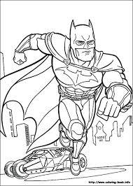 coloring pages batman picture color batman superman color