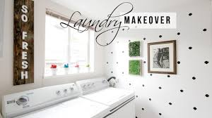 Easy Home Decorating Ideas Laundry Room Makeover Easy Home Decor Ideas Youtube