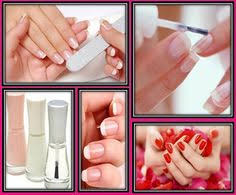 how to do a natural looking french manicure beauty pinterest