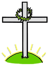 cross with crown of thorns clipart clipartxtras